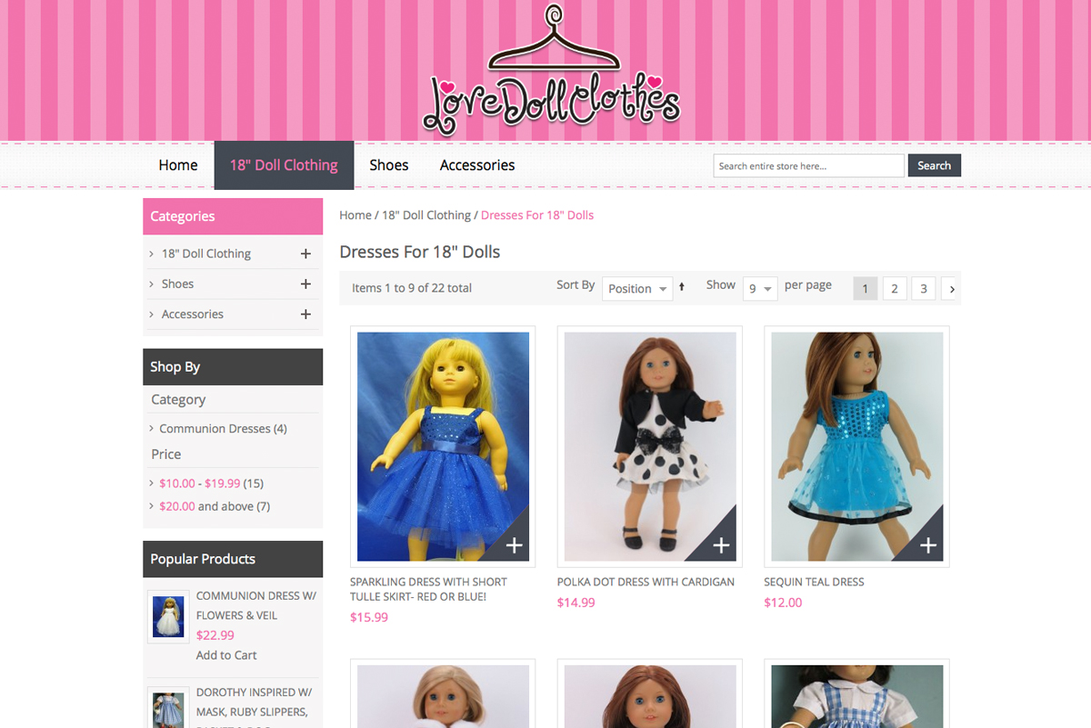 Love Doll Clothes