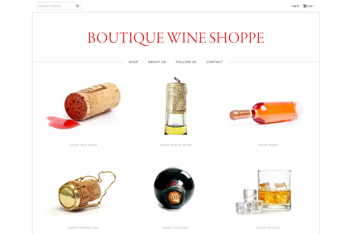 Boutique Wine Shoppe